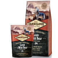 Сухой корм Carnilove Dog Lamb & Wild Boar для собак. Беззерновой 1.5 кг.
