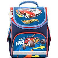 Рюкзак школьный каркасный Kite 501 Hot Wheels-1