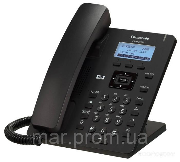 SIP-телефон (чорний) KX-HDV130RUB - Мережевi Актуальнi Рiшення ТОВ в Киеве