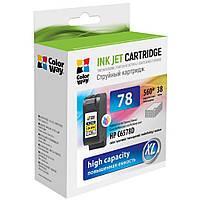 Картридж ColorWay HP №78 color (C6578D) (CW-H78C)
