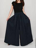 Женские льняные юбка -брюки. Цвет любой, размер любой