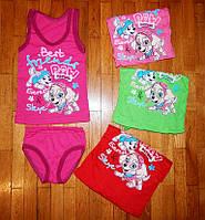 Детское белье для девочки Патруль 92 рр