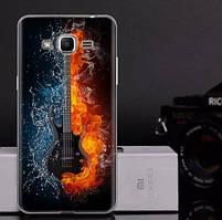 Оригинальный чехол для Samsung Galaxy J2 Prime G532f с картинкой Гитара