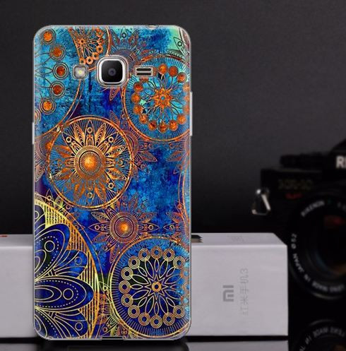 Оригинальный чехол для Samsung Galaxy J2 Prime G532f с картинкой Круги