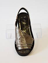 Босоножки женские платина Molly Bessa 338, фото 2