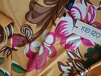 Платок шелковый Kenzo 110 на 110 см
