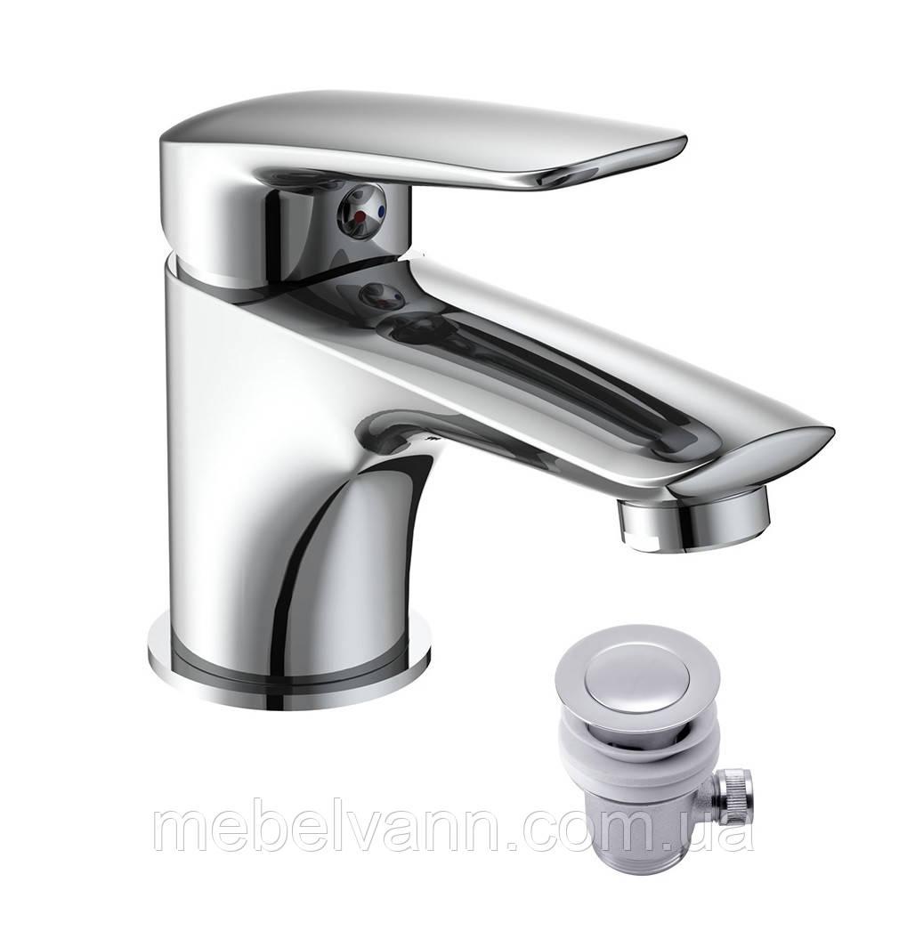 IMPRESE PRAHA NEW 05030 new Смеситель для раковины с донным клапаном