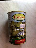Оливки Iberсia с анчоусом