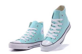 Кеды Converse All Star Tiffany Blue (высокие) VO-133