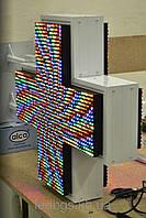 Аптечный крест 520х520 (RGB двухсторонний)