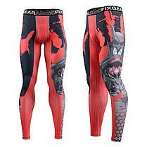 Комплект Рашгард Fixgear и компрессионные штаны CPD-BH4+FPL-H4, фото 2