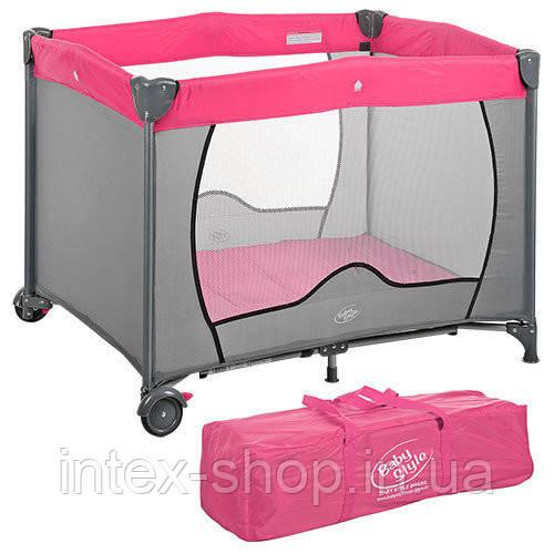 Детский манеж Bambi (G 200-8) Розовый