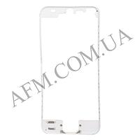 Рамка крепления дисплея iPhone 5 белая