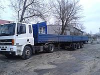 Длинномерные перевозки Киев. Услуги длинномеров.