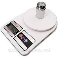 Электронные Кухонные Весы 7 кг SF- 400 + Батарейки, фото 1