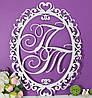 Семейный герб, свадебная монограмма