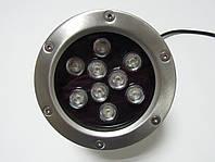 Светодиодный подводный прожектор LED 2109 RGB без контр