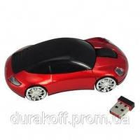 Беспроводная мышка машинка мышь mouse-c Red