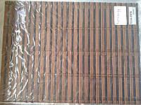 Бамбуковые рулонные шторы плотное плетение 80/160