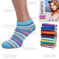 Женские короткие носки Ira 02-01. В упаковке 12 пар