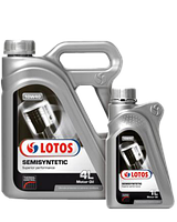 Моторное масло Lotos Semisyntetic 10w40 SL/CF