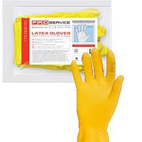 PROservice перчатки универсальные латексные 1 пара S Optimum