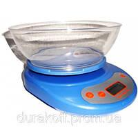 Весы кухонные с чашей (вес до 5 килограмм) Разные цвета
