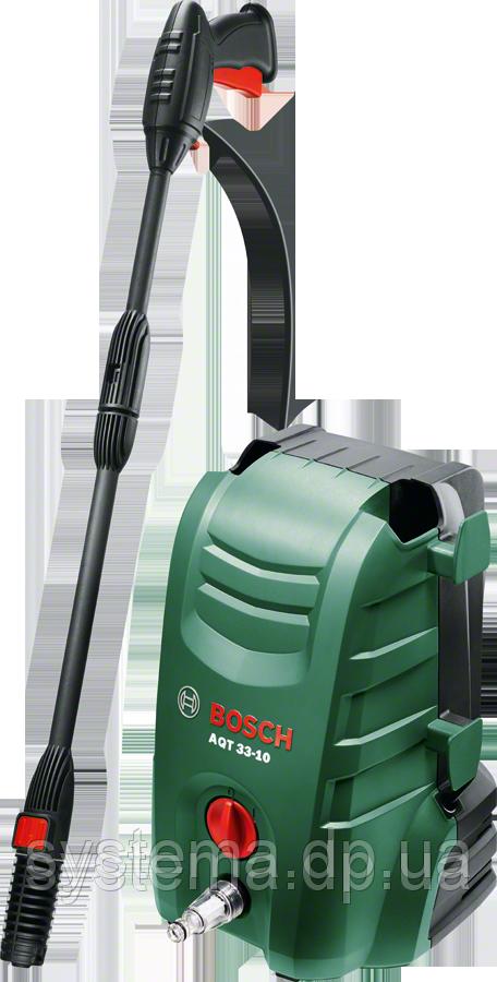 BOSCH AQT 33-10 - Очиститель высокого давления, 100 бар. НОВИНКА!