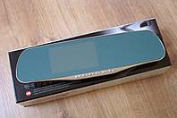 Видео регистратор зеркало заднего вида с выносной камерой DVR  авторегистратор