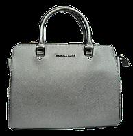 Женская сумочка MK серебристого цвета PPL-003201, фото 1