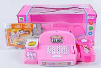 Кассовый аппарат Hello Kitty с аксессуарами (сканер, весы, деньги, коробочки )