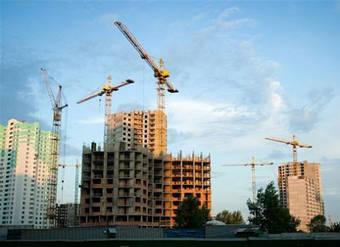 Будівництво житлових масивів.
