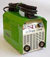 Сварочный инвертор Атом I-180D без кабелей, со штекерами Binzel (CM 10-25)