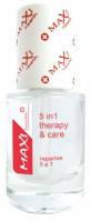 Лак для ногтей терапия 5 в 1 Maxi Health №3