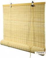 Бамбуковые шторы-ролеты плотное плетение 70/160