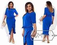 Длинное женское платье в больших размерах у-t15151255