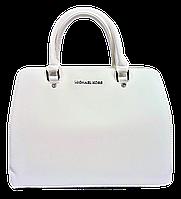 Стильная женская сумочка MK белого цвета PPL-003204