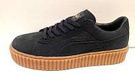 Кроссовки Puma x Rihanna Suede синие Pu0003