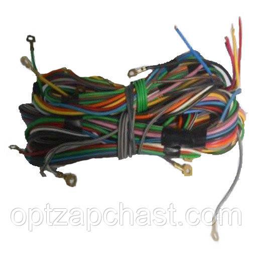 Электропроводка щитка приборов ЮМЗ