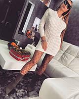 Теплое женское платье к-t18032657