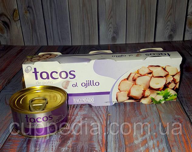 Осьминог в чесночном соусе Hacendado 80 гр