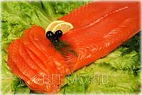 Филе лосося (форели) в/у зачищенное