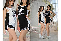 "Женский костюм майка+шорты ""Адидас"""