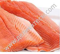 Филе лосося (форели) в/у не зачищенное