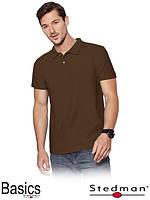 Рубашки поло мужские  ST3000 [BRO]