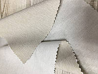 Бежевая  двухсторонняя ткань для штор TEFA HENG