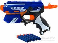 Оружие игрушечное INDIGO 5 мягких пуль 7036A...