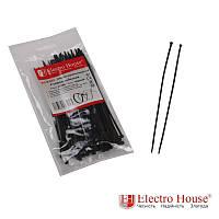 ElectroHouse Стяжка кабельная чёрная 3x150 EH-B-002