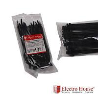 Стяжка кабельная чёрная 5x160 EH-B-010