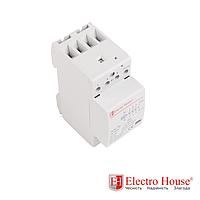 ElectroHouse Контактор модульный 25А 230V